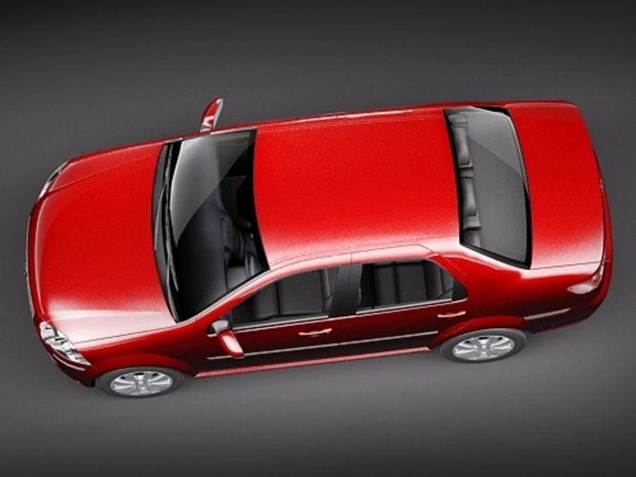 새로운 시에나 2009 년 royalty-free 3d model - Preview no. 8