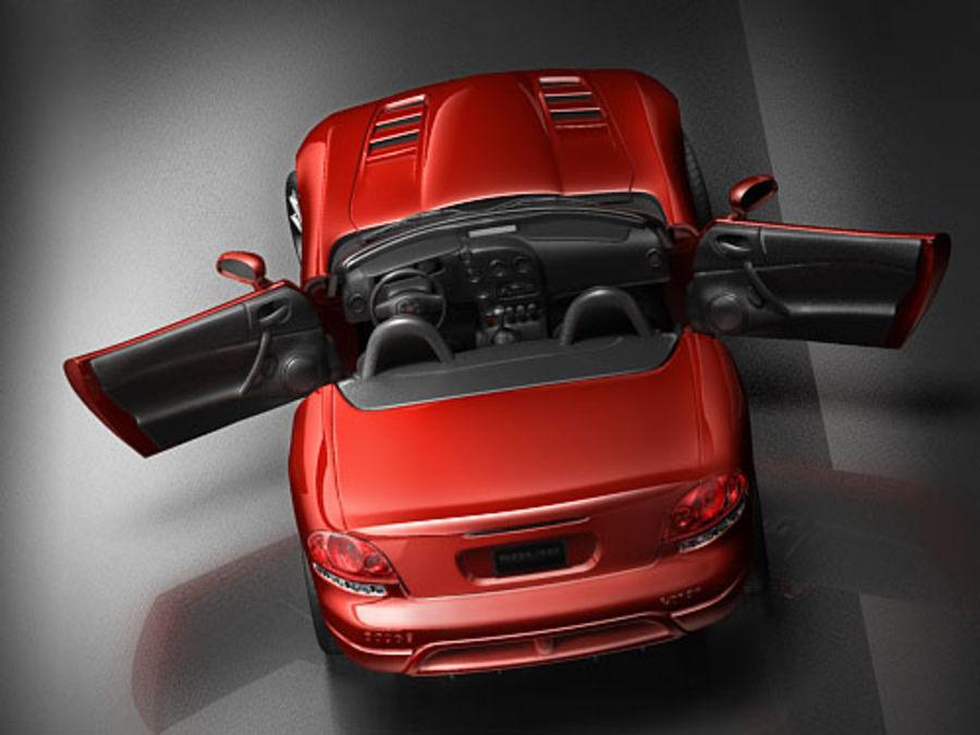 dodge viper srt-10 royalty-free 3d model - Preview no. 6