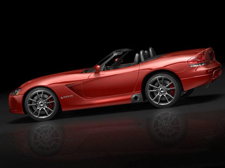 dodge viper srt-10 royalty-free 3d model - Preview no. 5
