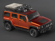 Hummer H3 Offroad 3d model