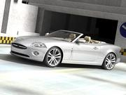 Jaguar XK Cabrio 2007-2010 3d model