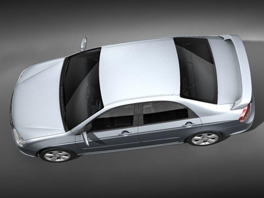 起亚光谱2006-2008 royalty-free 3d model - Preview no. 8