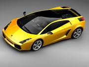 Lamborghini Gallardo SE 3d model