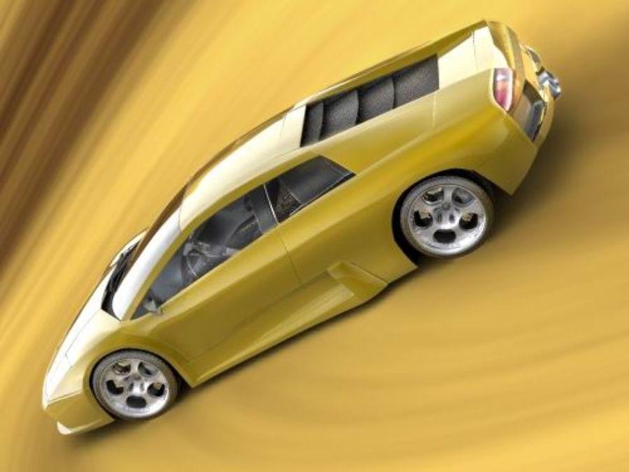 Lamborghini Murcielago 2006 royalty-free 3d model - Preview no. 1