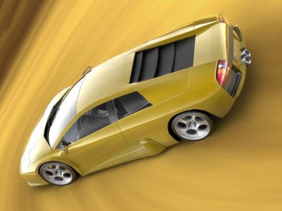 Lamborghini Murcielago 2006 royalty-free 3d model - Preview no. 6