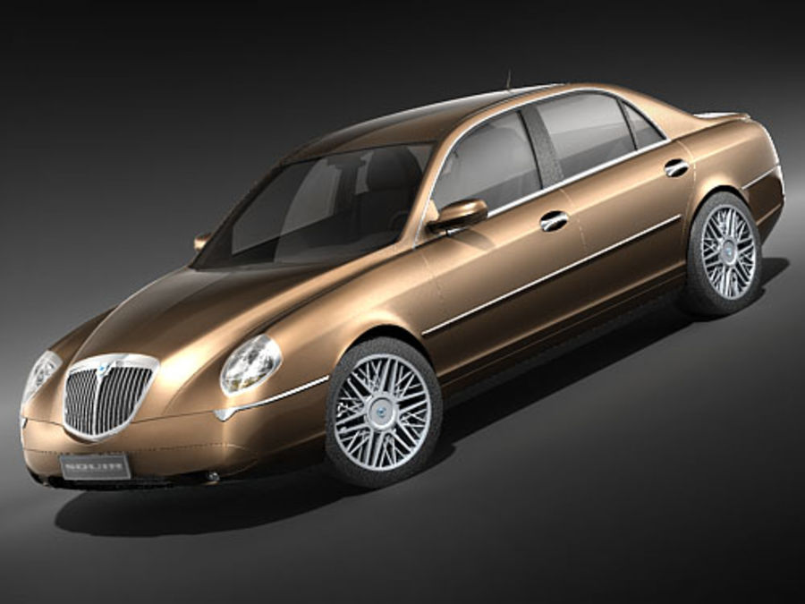 Lancia Thesis 2004-2008 3D Model $79 - .max .3ds - Free3D