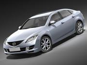 마쓰다 6 2008-2010 3d model