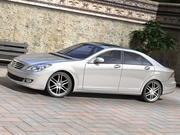 Mercedes concept sedan 3d model