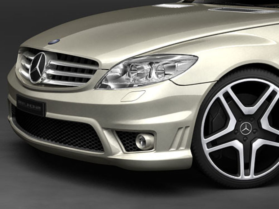 Mercedes CL AMG 2007-2011 royalty-free modelo 3d - Preview no. 3