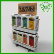 tea merchandiser 3d model