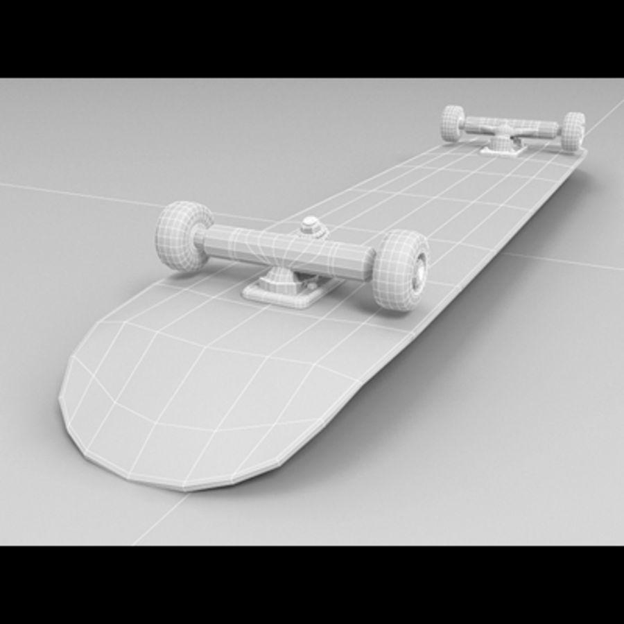 Skateboard royalty-free 3d model - Preview no. 8