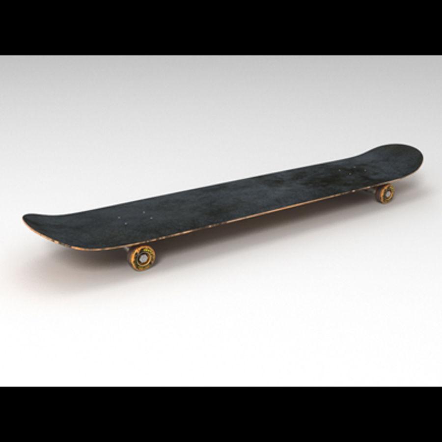 Skateboard royalty-free 3d model - Preview no. 3