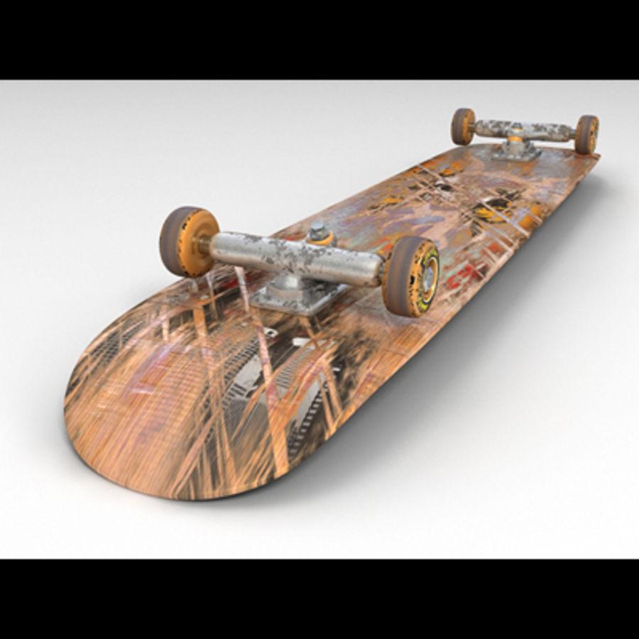 Skateboard royalty-free 3d model - Preview no. 1