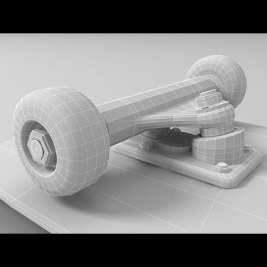 Skateboard royalty-free 3d model - Preview no. 10