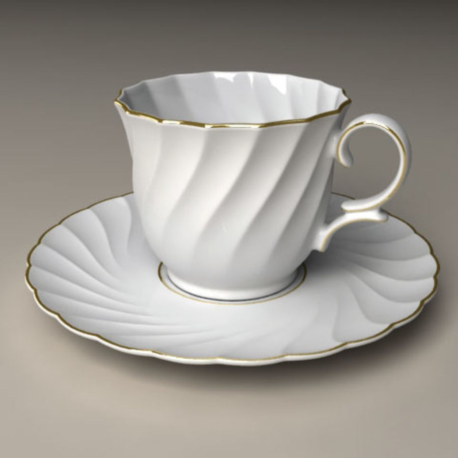 Porcelain Coffee Cup 3D Model $25 -  lwo  xsi  max  obj - Free3D
