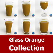 Glass Orange Collection 3d model