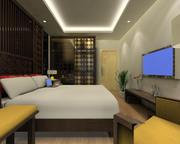 ggs-guest room_010 3d model