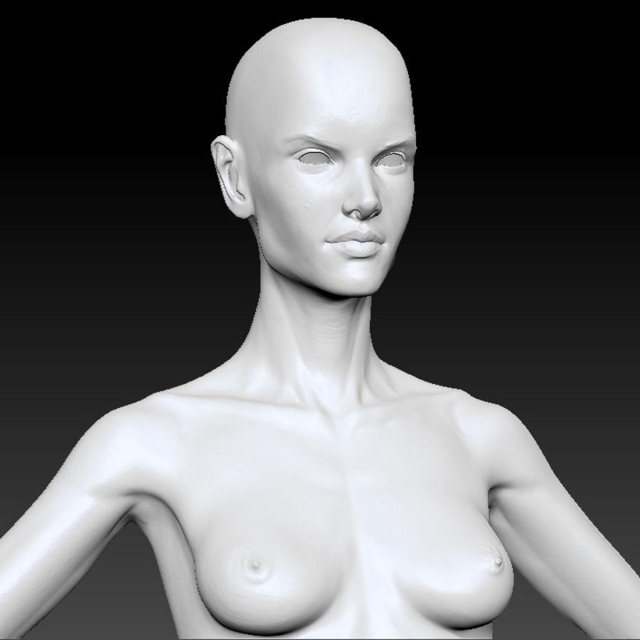 Alex detailed sculpt royalty-free 3d model - Preview no. 2