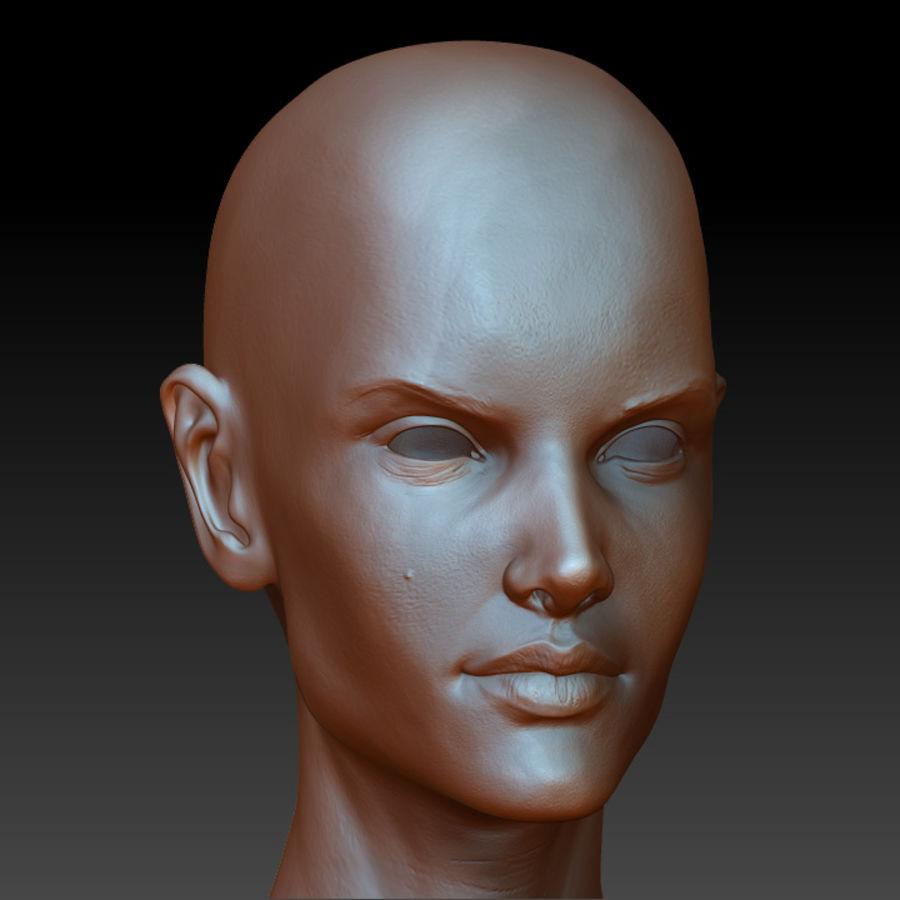 Alex detailed sculpt royalty-free 3d model - Preview no. 1