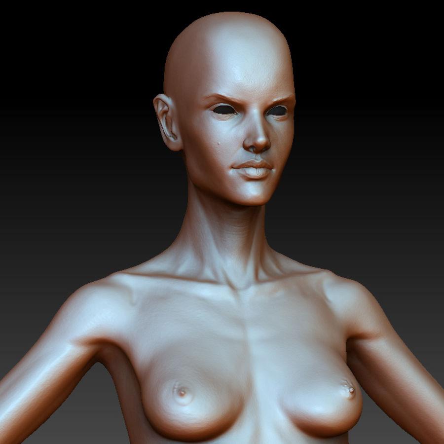 Alex detailed sculpt royalty-free 3d model - Preview no. 3