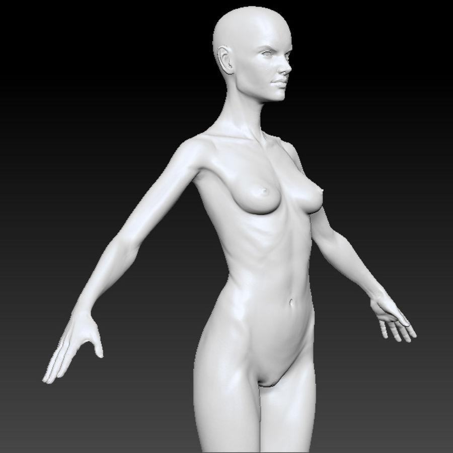Alex detailed sculpt royalty-free 3d model - Preview no. 5