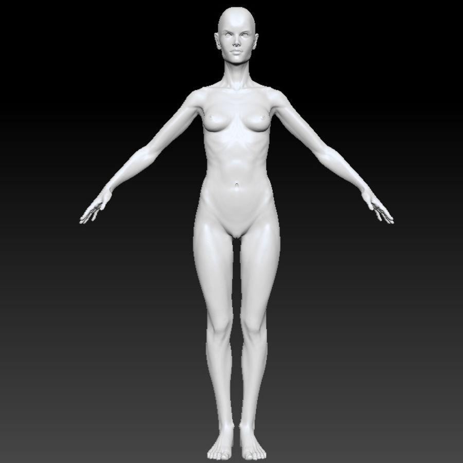 Alex detailed sculpt royalty-free 3d model - Preview no. 4