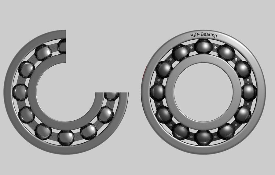 Ball Bearing 3D Model $25 -  obj  3ds  c4d - Free3D
