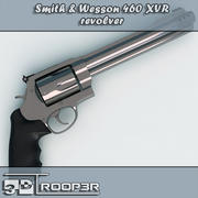 Smith & Wesson 460 XVR Revolver 3d model