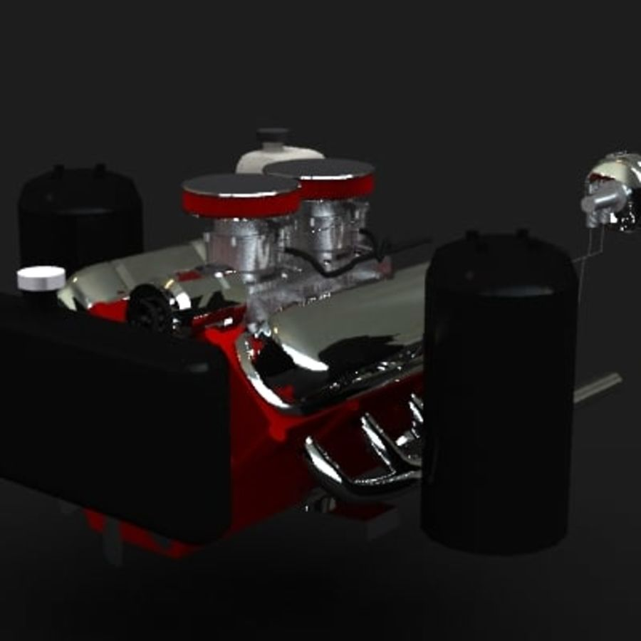 engine royalty-free 3d model - Preview no. 3