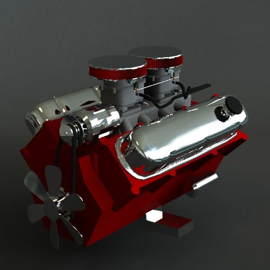 engine royalty-free 3d model - Preview no. 1