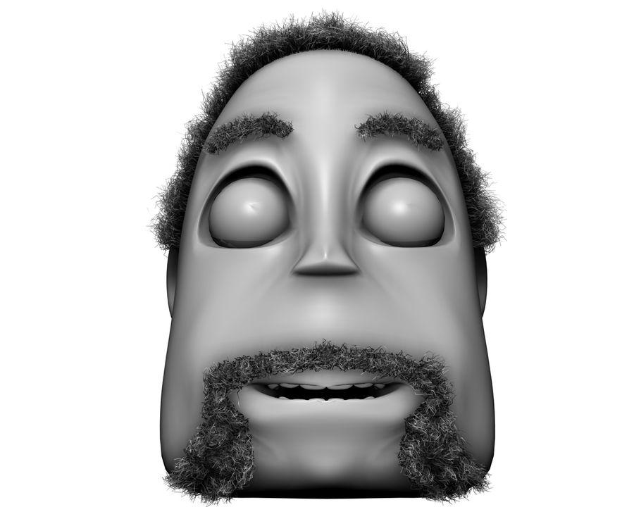 Cartoon Character Head- Dave 3D Model $4 -  unknown  obj  fbx  3ds