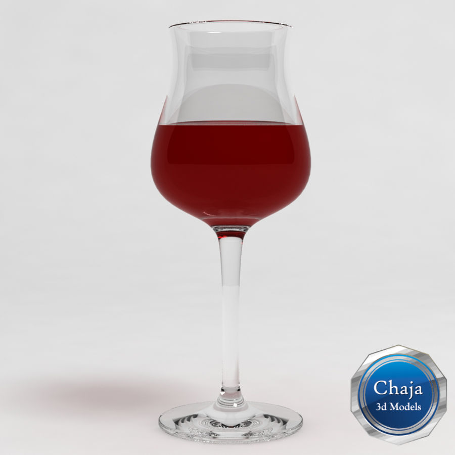 Wine Glass Collection royalty-free 3d model - Preview no. 17