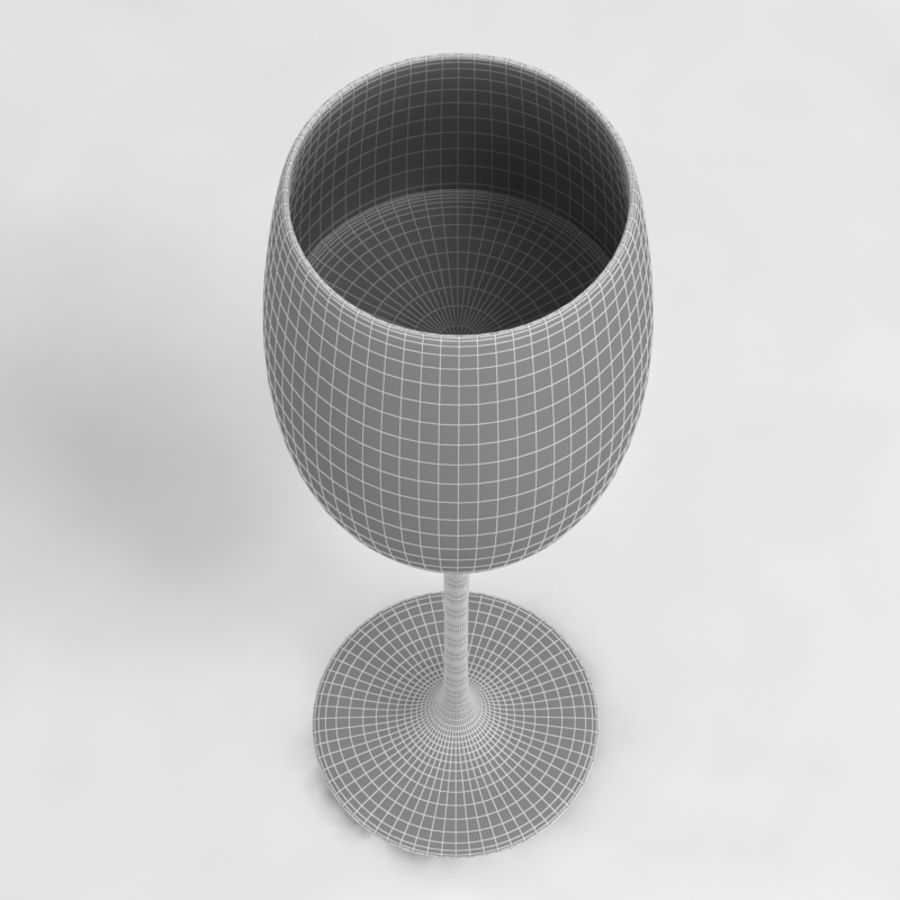 Wine Glass Collection royalty-free 3d model - Preview no. 22