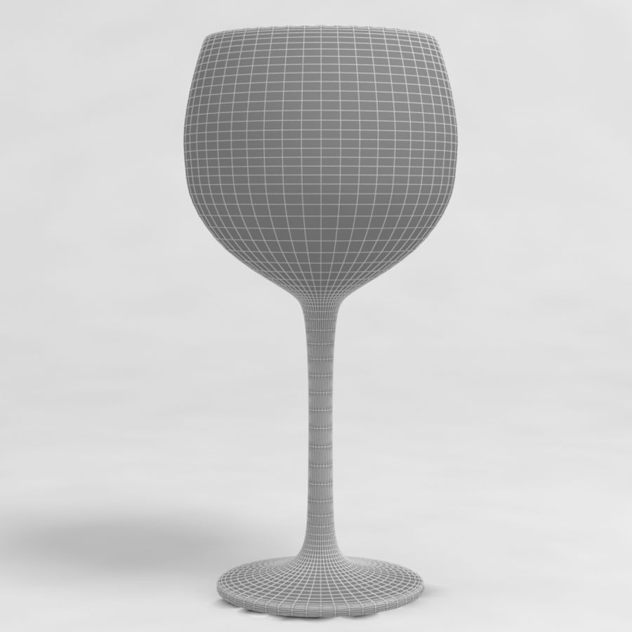 Wine Glass Collection royalty-free 3d model - Preview no. 32