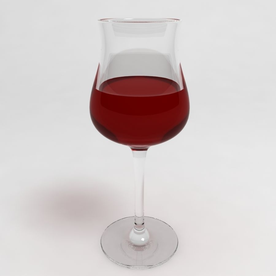 Wine Glass Collection royalty-free 3d model - Preview no. 18