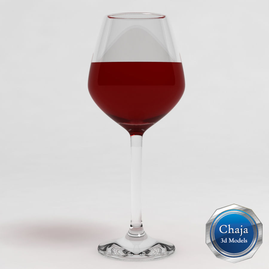 Wine Glass Collection royalty-free 3d model - Preview no. 5