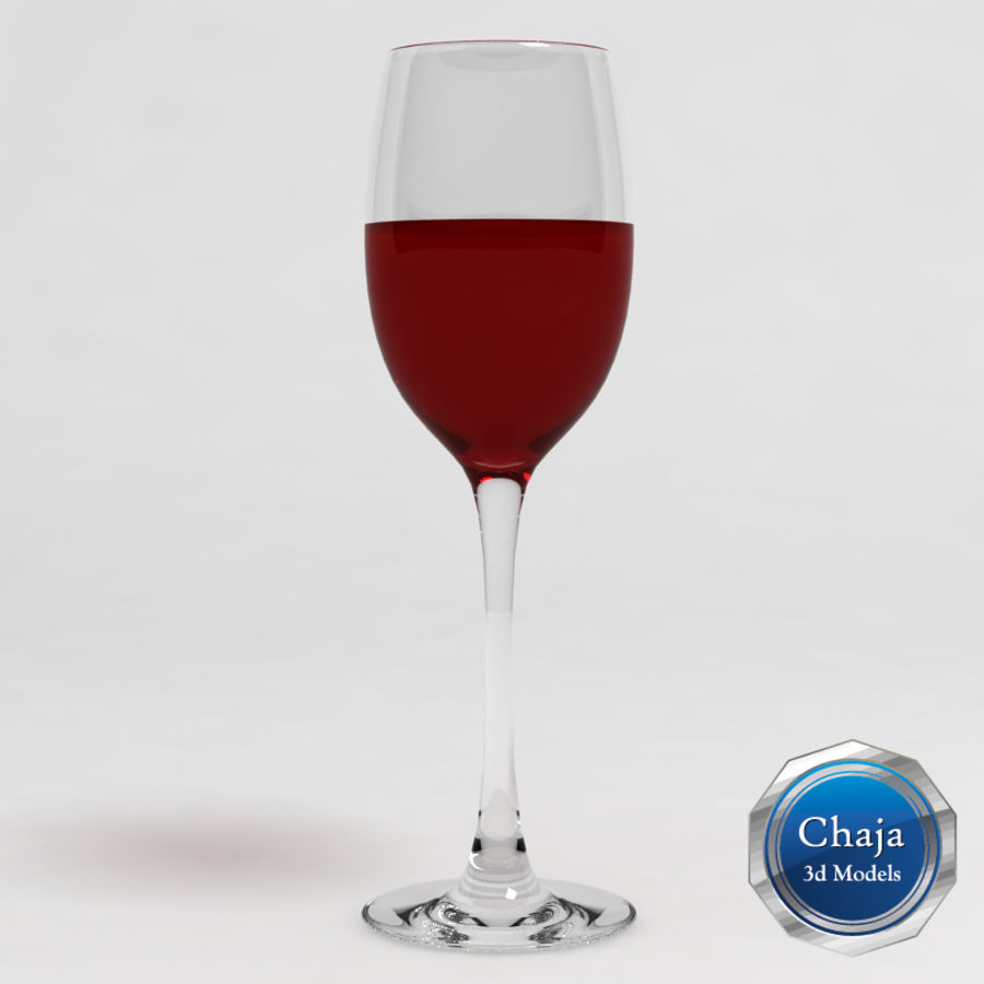 Wine Glass Collection royalty-free 3d model - Preview no. 2