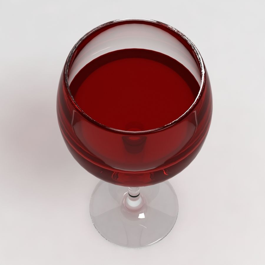 Wine Glass Collection royalty-free 3d model - Preview no. 16