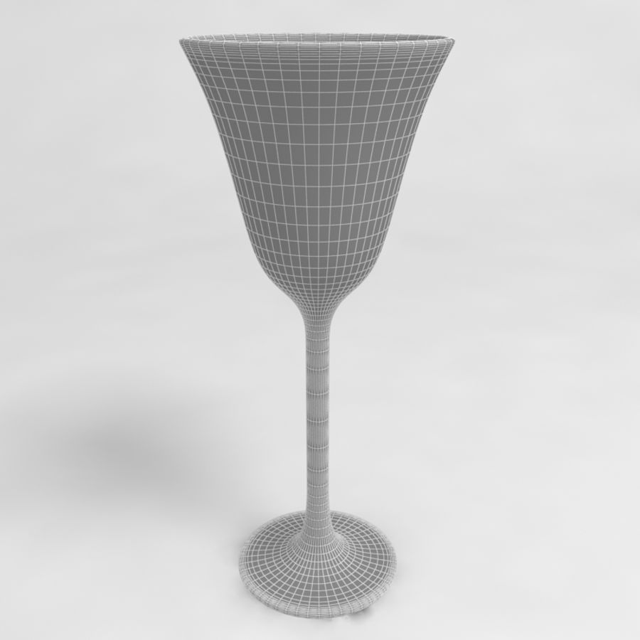 Wine Glass Collection royalty-free 3d model - Preview no. 27