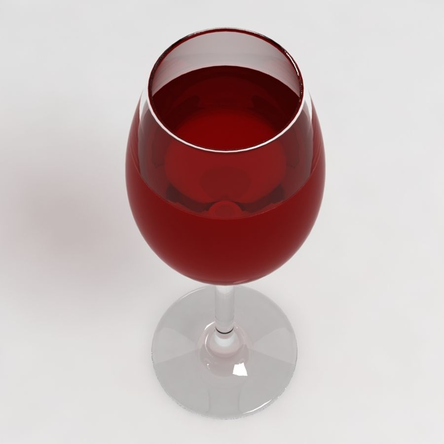 Wine Glass Collection royalty-free 3d model - Preview no. 13
