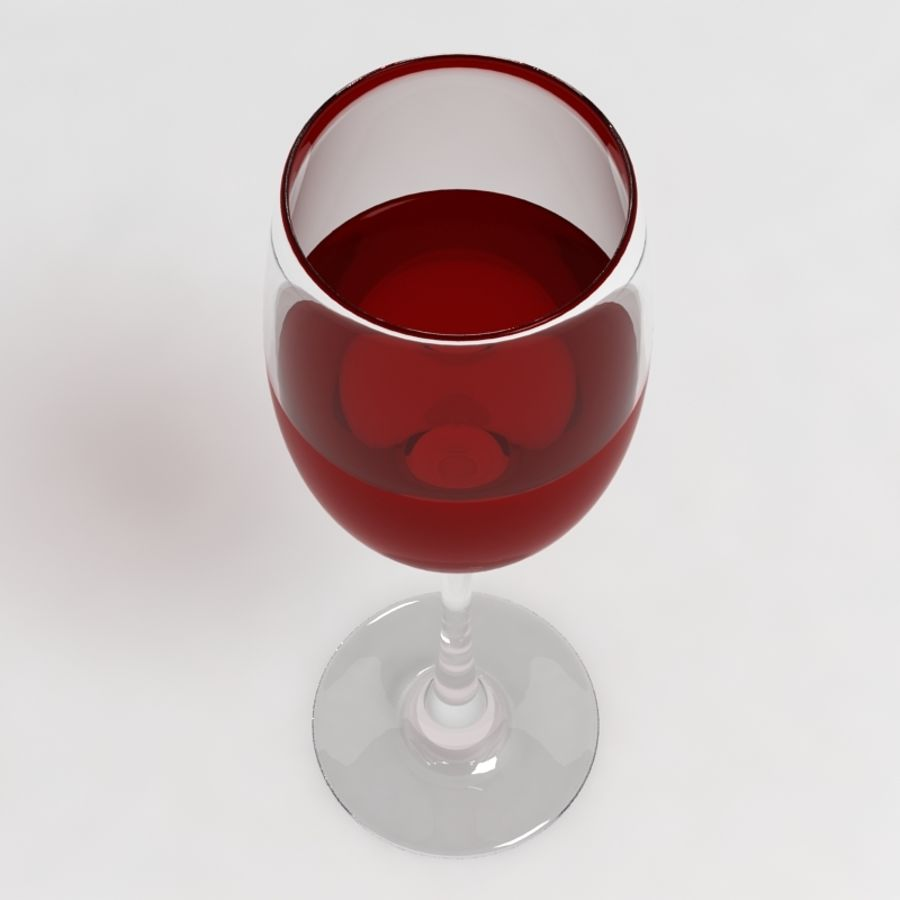 Wine Glass Collection royalty-free 3d model - Preview no. 4