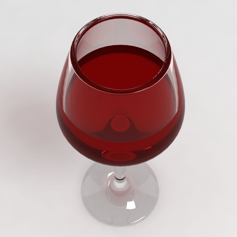 Wine Glass Collection royalty-free 3d model - Preview no. 7