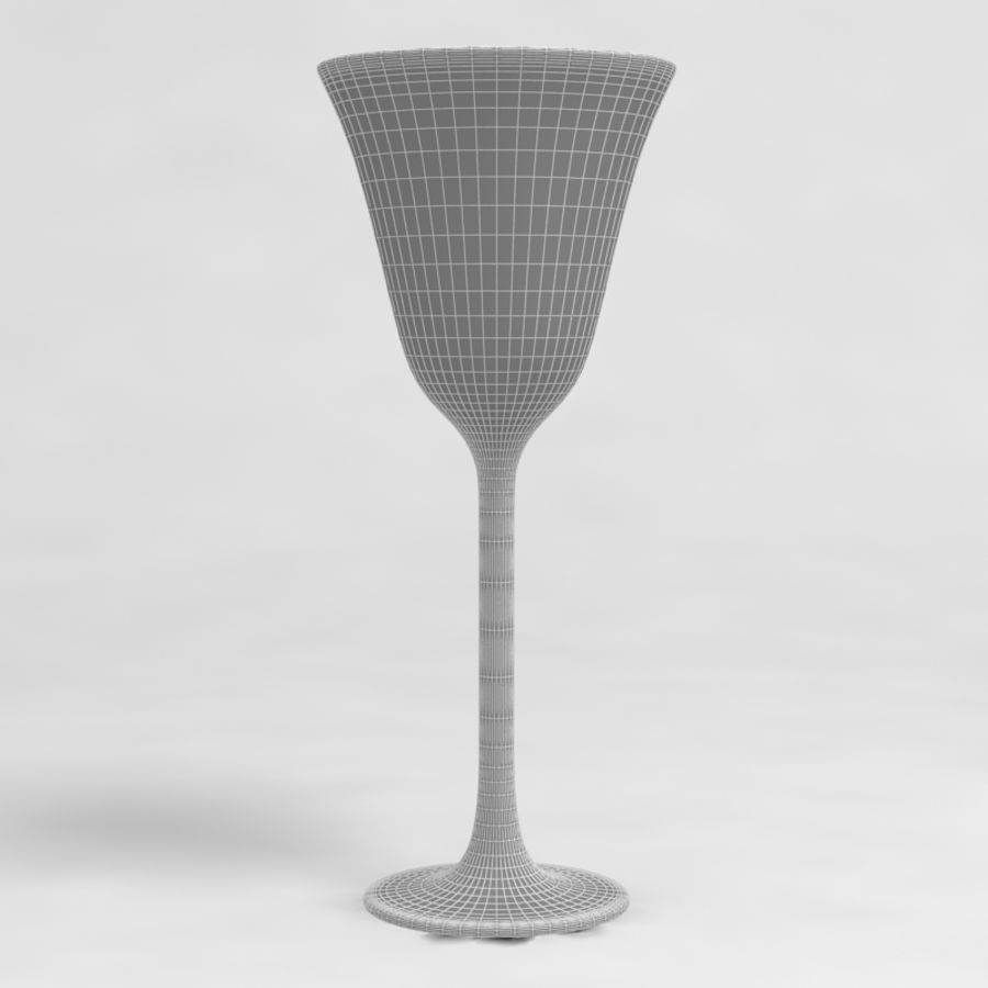 Wine Glass Collection royalty-free 3d model - Preview no. 26