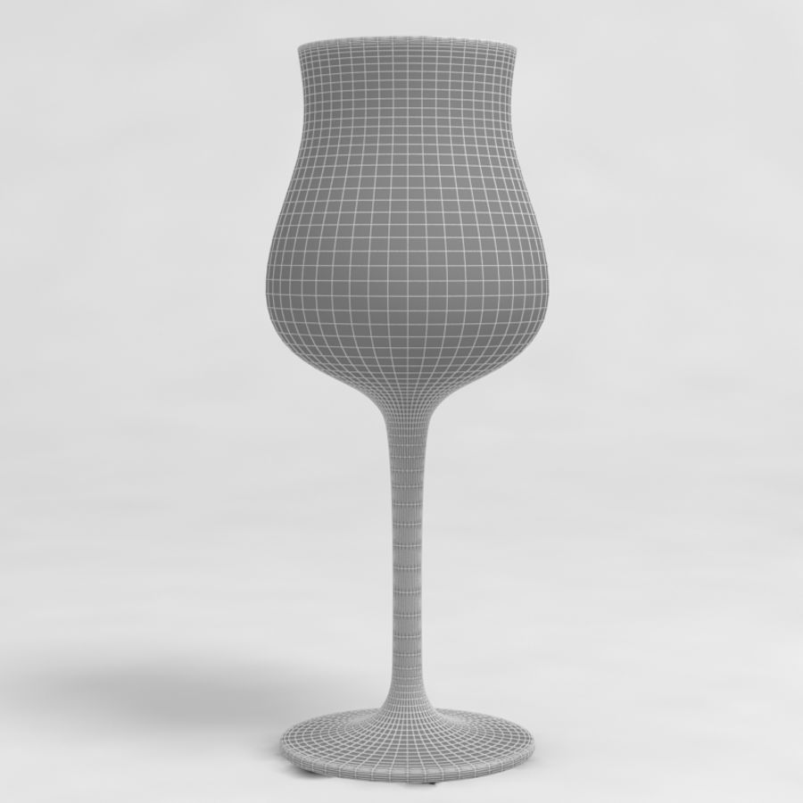 Wine Glass Collection royalty-free 3d model - Preview no. 35
