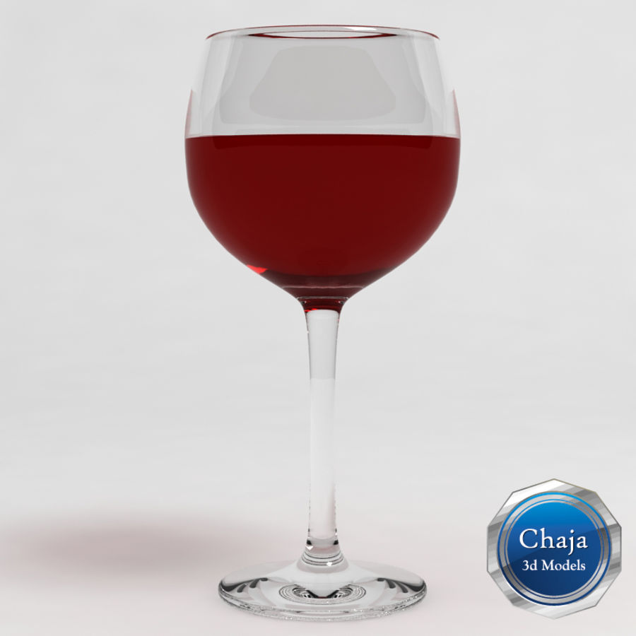 Wine Glass Collection royalty-free 3d model - Preview no. 14