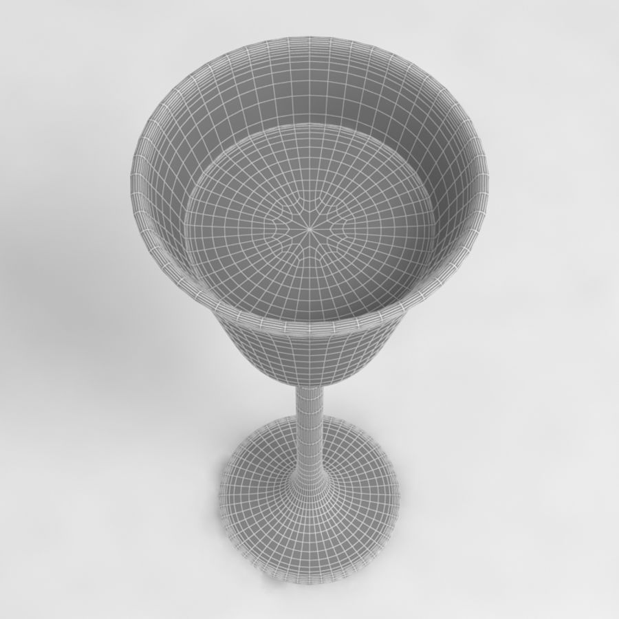 Wine Glass Collection royalty-free 3d model - Preview no. 28