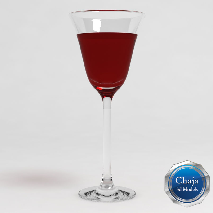 Wine Glass Collection royalty-free 3d model - Preview no. 8