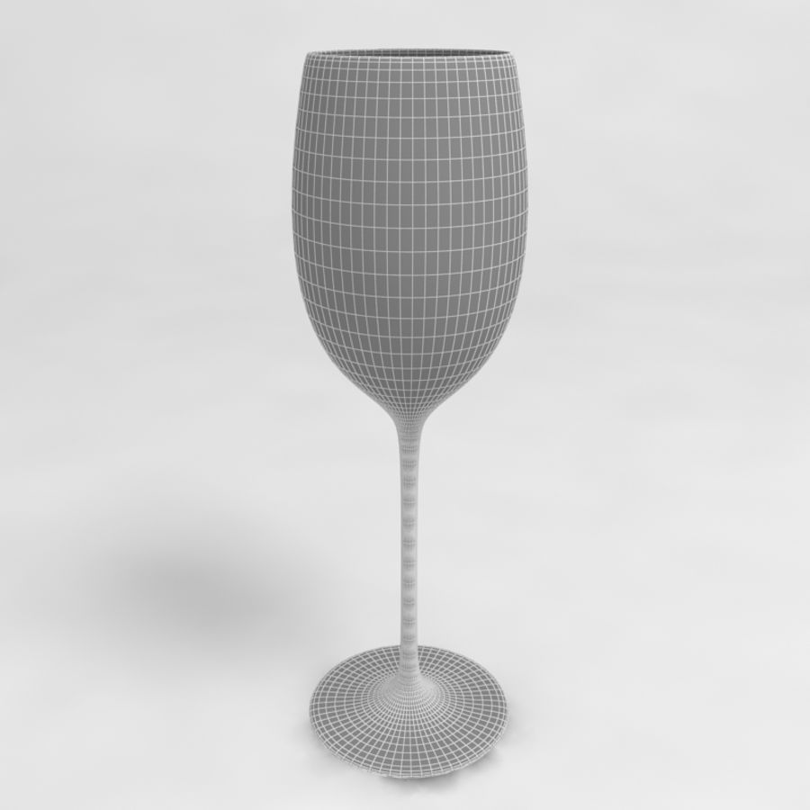 Wine Glass Collection royalty-free 3d model - Preview no. 21
