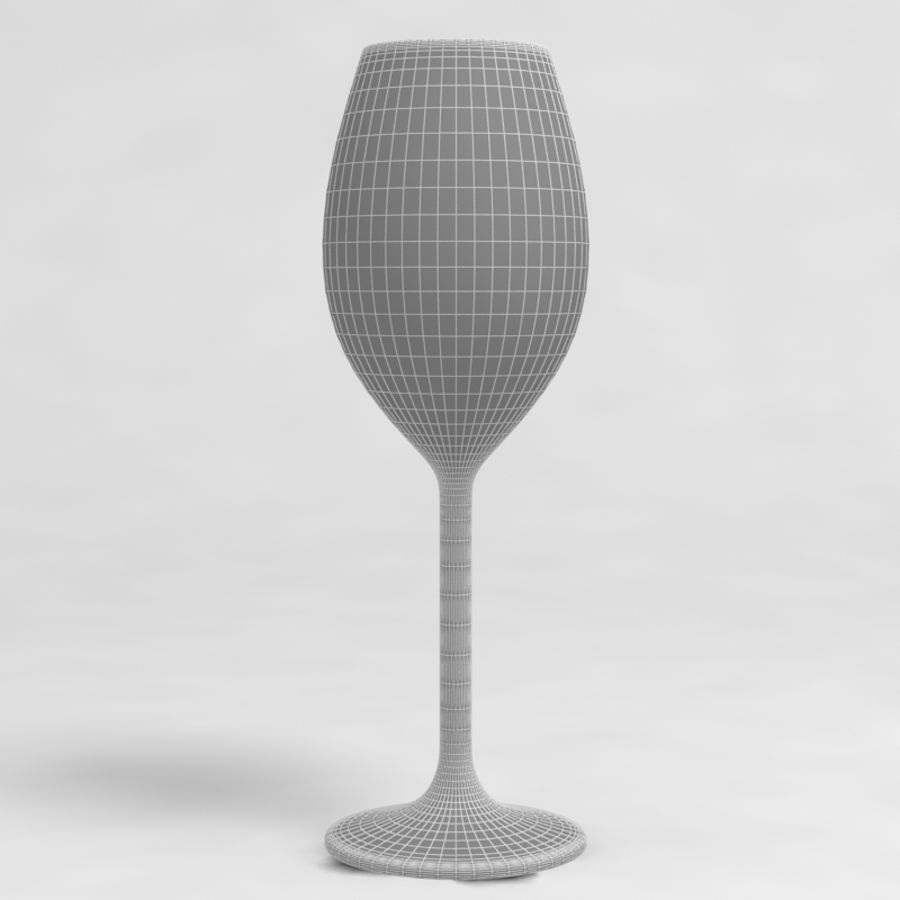 Wine Glass Collection royalty-free 3d model - Preview no. 29