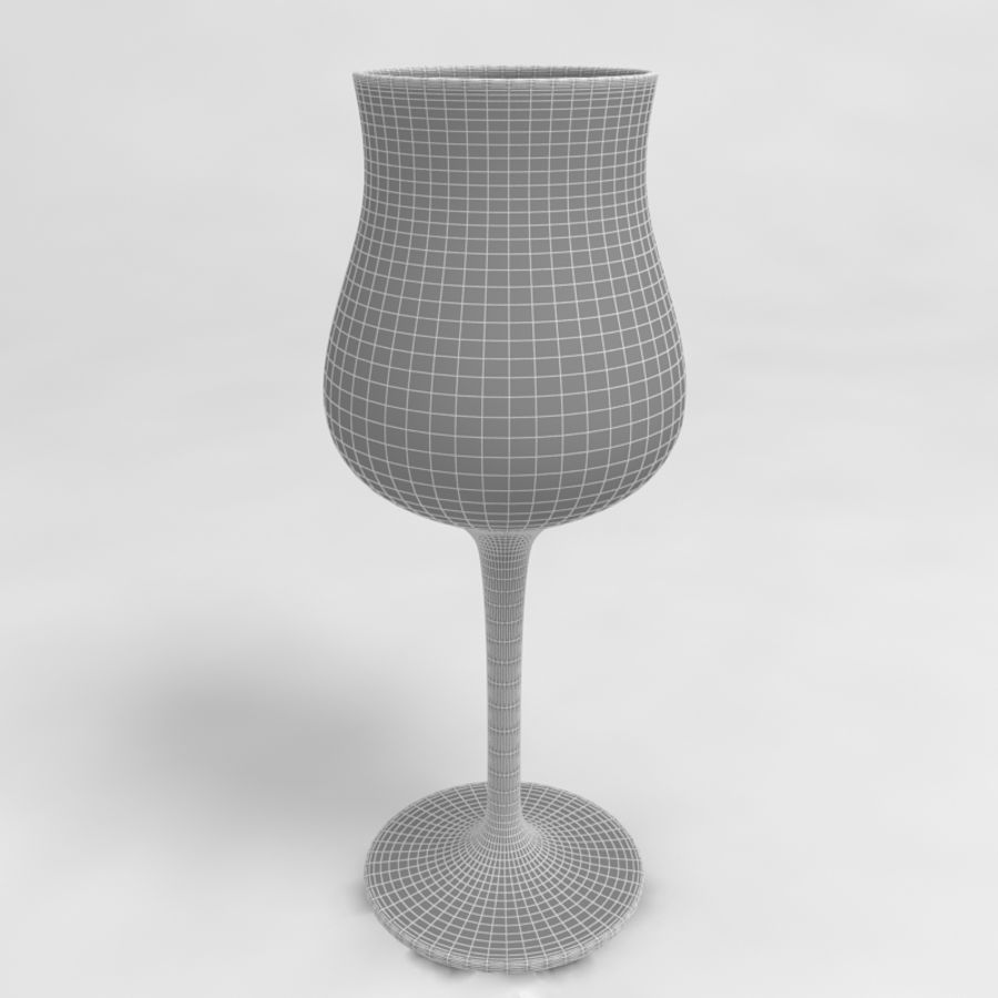 Wine Glass Collection royalty-free 3d model - Preview no. 36